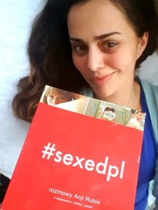20190105_2228151625290026-225x300 #SEXEDPL. Rozmowy Anji Rubik o dojrzewaniu, miłości i seksie.Pozycja obowiązkowa dla nastolatków i ich rodziców!