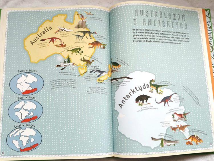 20190320_2158111968866051-1024x768 Atlas przygód dinozaurów. Prehistoryczna przygoda w ogromnym formacie od Nasza Księgarnia.