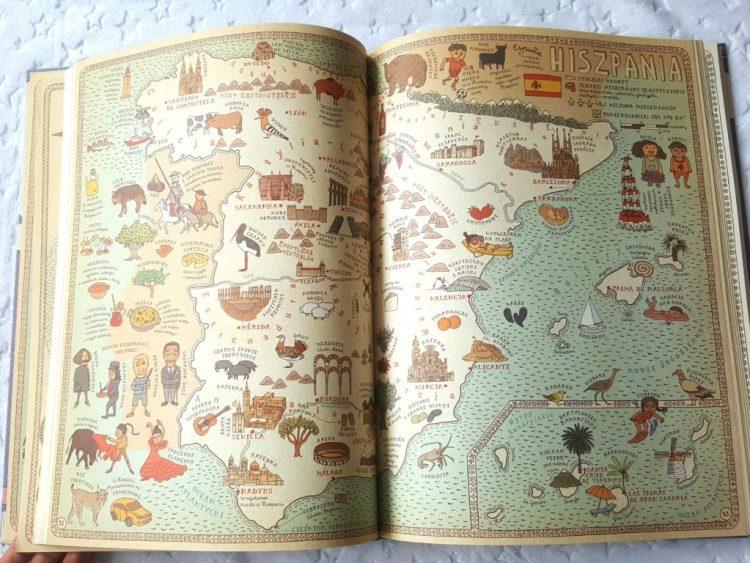 20190508_0808481827958354-768x1024 HIT! MAPY Obrazkowa podróż po lądach, morzach i kulturach świata. Edycja fioletowa 2019! Dwie Siostry.