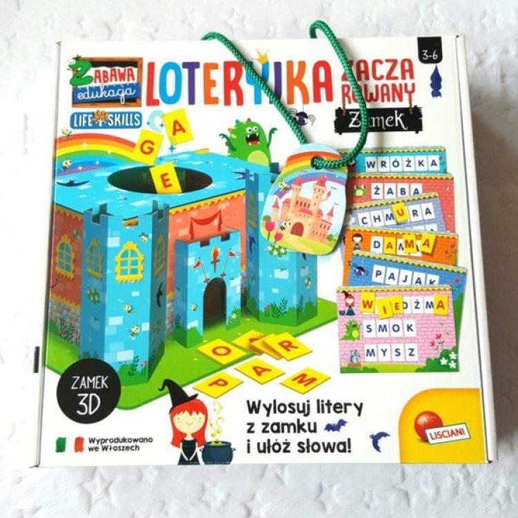 20191025_210017-11811928012-1024x1024 Pomysł na prezent: Loteryjka: ZABAWA I EDUKACJA ZACZAROWANY ZAMEK Lisciani 3-6 lat