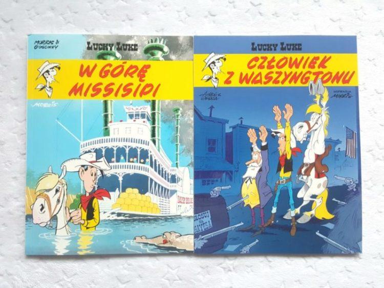 20191106_1406541058149568-1024x768 Nowe przygody z USA – Lucky Luke i Człowiek z Waszyngtonu oraz W górę Missisipi. EGMONT 2019
