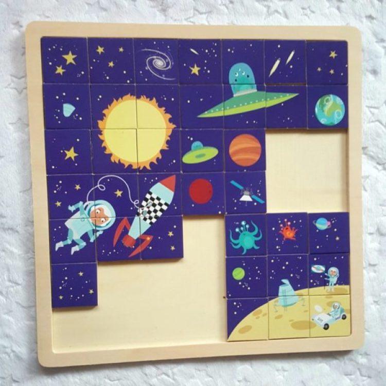 20191106_1410571058143205-768x1024 Pomysł na prezent: Creative Puzzle – kosmiczne puzzle od Ludattica 2-5+