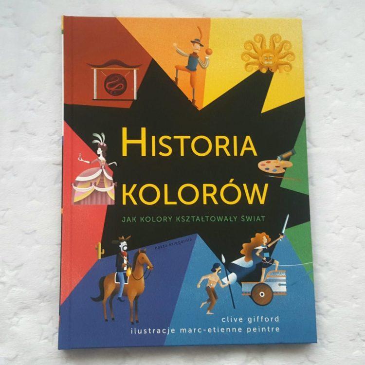 20200121_1102551385433433-1024x1024 Historia kolorów- Clive Gifford. Kolorowe spojrzenie na historię, ludzi i piękno. Nasza Księgarnia STYCZEŃ 2020