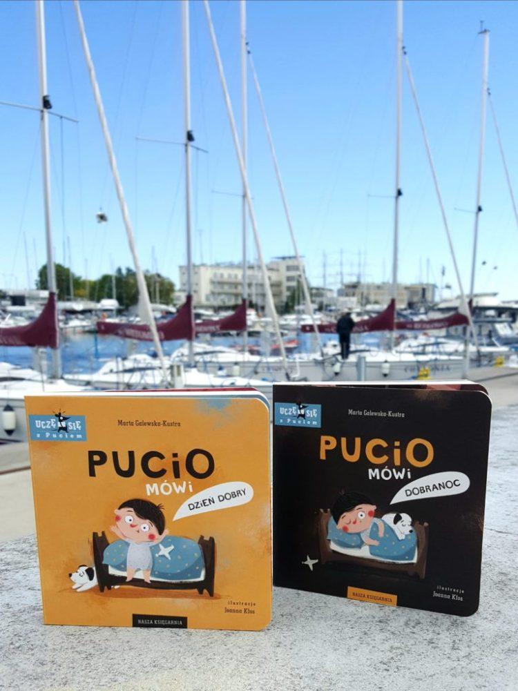 20200525_064832475189887-767x1024 Pucio mówi dzień dobry i Pucio mówi dobranoc. Nasza Księgarnia WIOSNA 2020, 0+