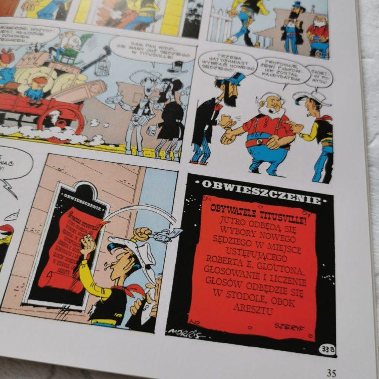 IMG_20200728_090137-1024x1024 Komiksy są super: Lucky Luke. Prorok. Tom 68 oraz  Lucky Luke. W cieniu wież wiertniczych. Tom 18 LATO 2020