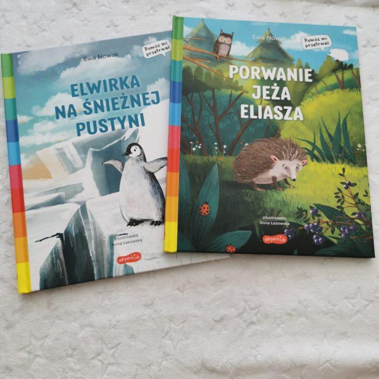 wp-1598213251954-1024x1024 Porwanie jeża Eliasza. Elwirka na śnieżnej pustyni. Akademia mądrego dziecka. Pomóż mi przetrwać. HarperCollins Polska