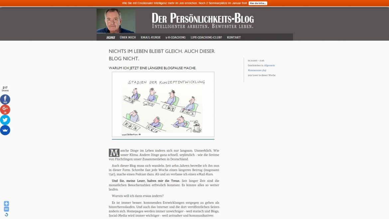 persönlichkeits-blog
