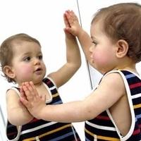 Le stade du miroir chez le bébé 1