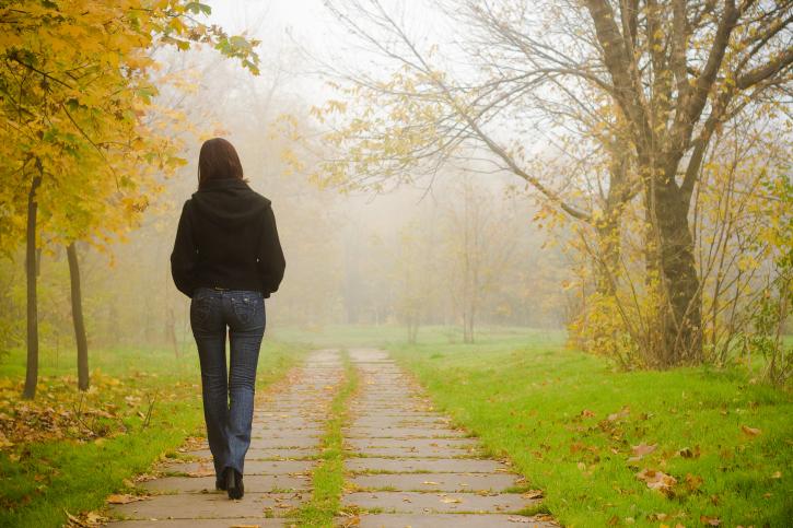 Utilisez la marche méditative pour soulager le stress 1