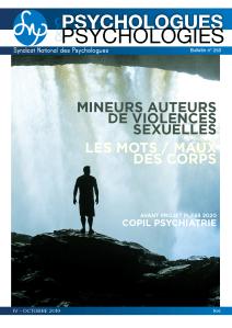 Mineurs auteurs de violences sexuelles