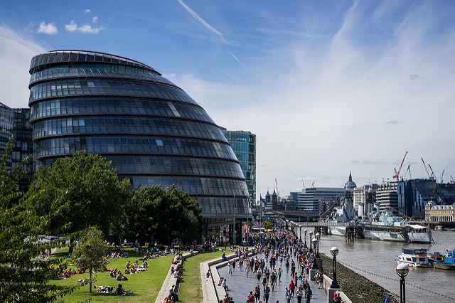 London Assembly Building on the Thames