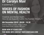 voices of fashion DrMairFashionPsychologist