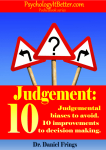 Judgement pocketbook cover