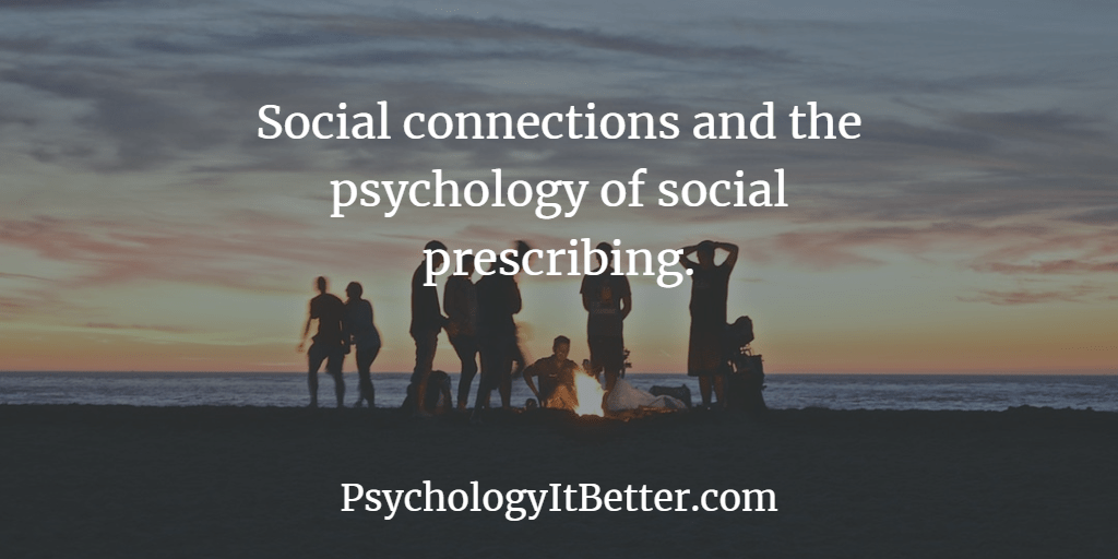 Social connections and social prescribing