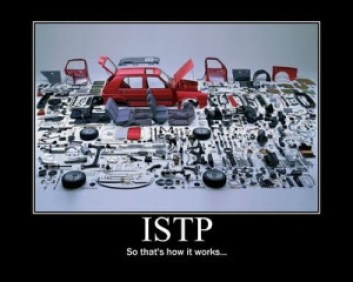 ISTP so that's how that works
