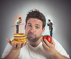 Diet guilty conscience
