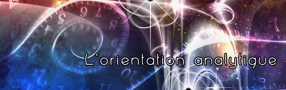 L'orientation analytique