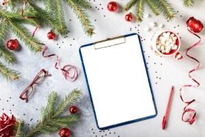 Faire des plans pour une nouvelle année