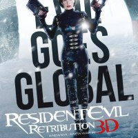 "Horror Movie Poster - Resident Evil: Retribution ""Global"""