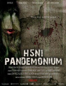 Horror Movie Poster – H5N1: Pandemonium