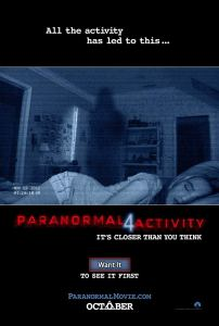 Horror Movie Trailer – Paranormal Activity 4 Trailer #2