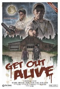 Horror Movie Poster & Trailer – Get Out Alive