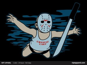 Clothing – Nirvana/Friday the 13th Mash-Up T-Shirt