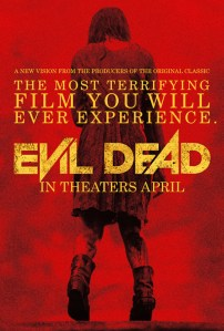 Horror Movie Poster – Evil Dead