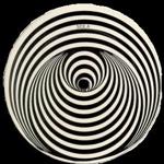 Vertigo spiral label
