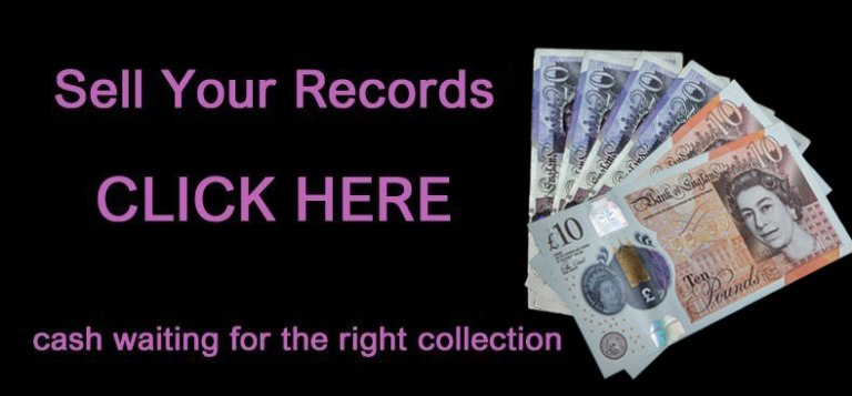 We buy record collections. Cash Waiting for the right collections. Call on 07791 633362 to arrange or visit or drop into the shop on Boldmere High Street.