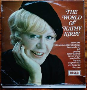 G grade cover Kathy Kirby Grade our records