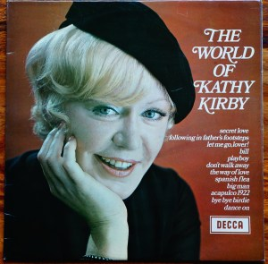 M grade cover Kathy Kirby Grade our records
