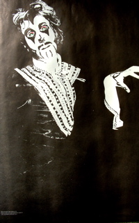 Arthur Brown Crazy World poster