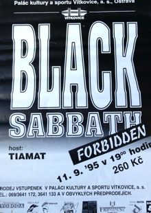Black Sabbath Eastern poster