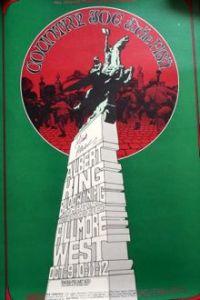 Country Joe BG195 poster