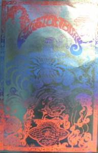 Glastonbury Poster printed on foil