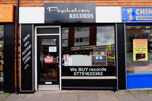 Outside Psychotron Record shop