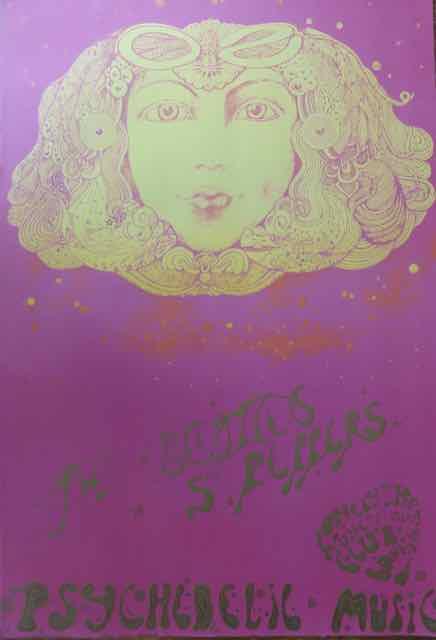 Beatles SGT Pepper poster