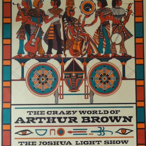 Bill Graham 1968 Jeffersen Airplane poster