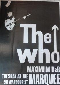 The Who at the Maximum R&B Marquee