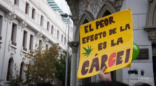 The prohibition on cannabis results in unnecessary or excessive prison sentences (CC. Javier Carabelli)