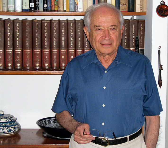 "The Israeli scientist, more commonly known as ""The Father of Cannabis Research"""