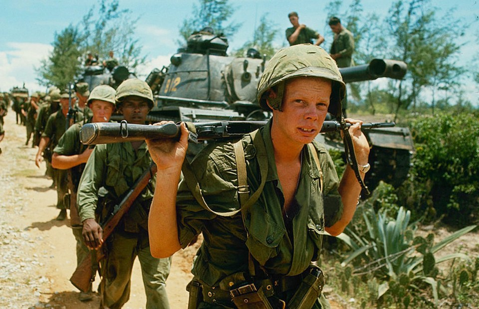 American soldiers in Vietnam used cannabis to maintain psychological health (© manhhai)