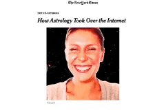The New York Times article – How Astrology Took Over the Internet by Amanda Hess (01/01/18)