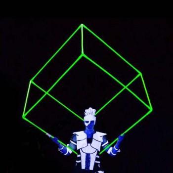 psycusix, cube, malaysia, circus, fire, lights