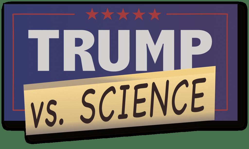 Trump Vs Science Logo