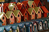 Bird houses in a row by andrewosterberg, on Flickr