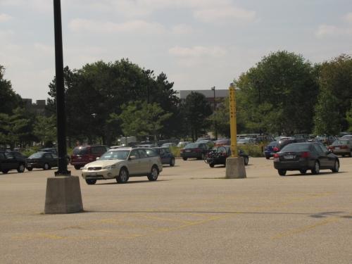 Parking lot expanse