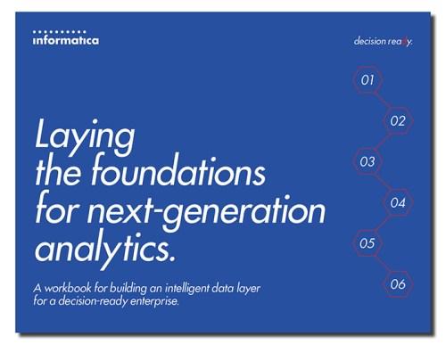 Next Gen Analytics, Analytics, Informatica