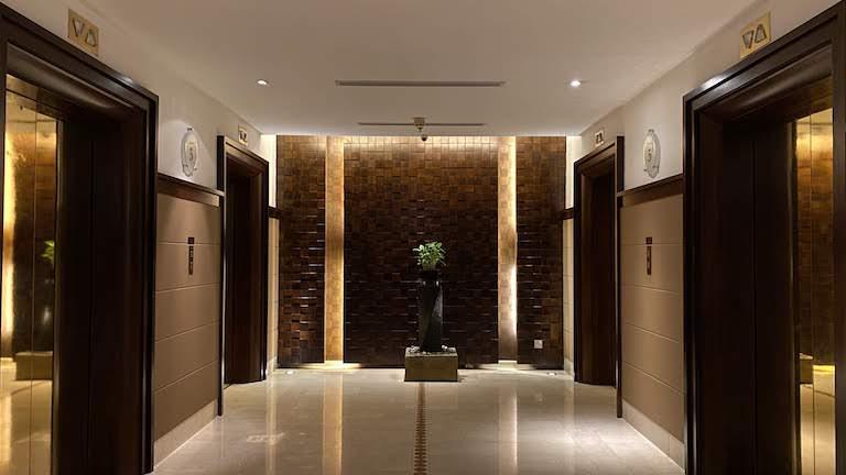 インターコンチネンタルKL エレベーターホール@5F